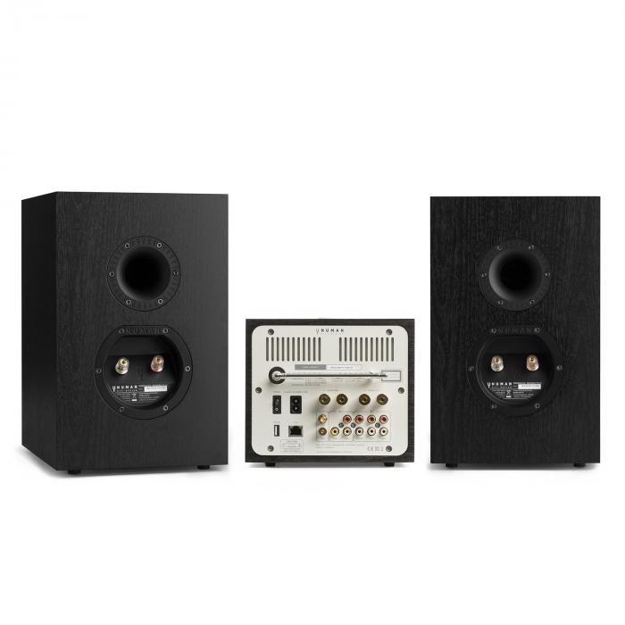 Unison Reference 802 Edition - Stereolaitteisto vahvistin kaiuttimet + suoja