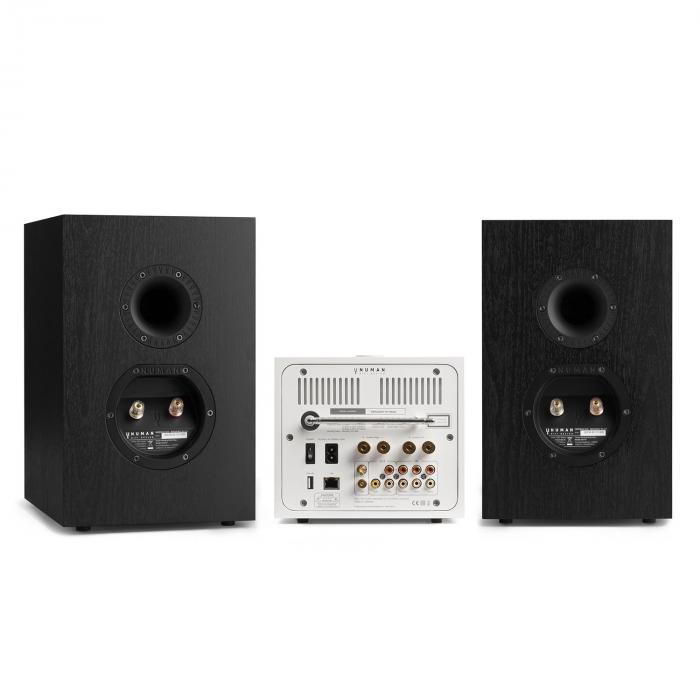 Unison Reference 802 Edition - Stereo All-in-one con 2 Altoparlanti + Custodia