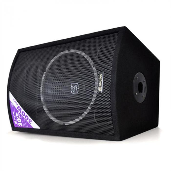 "Skytec SL12 Disco Speakers with Tripods 2"" Woofer 200W / 300Wmax"