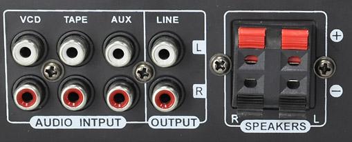 Star1 PA-järjestelmä päätelaite kaiutinsetti 2 x 20 W max. mikrofoni karaoke