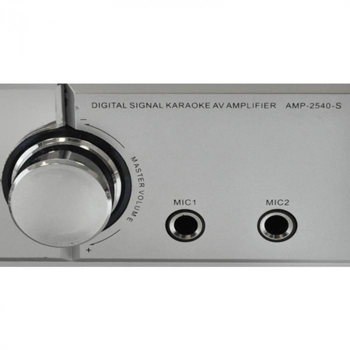 DJ11 Set audio professionale 1ampli 2casse 1microfono