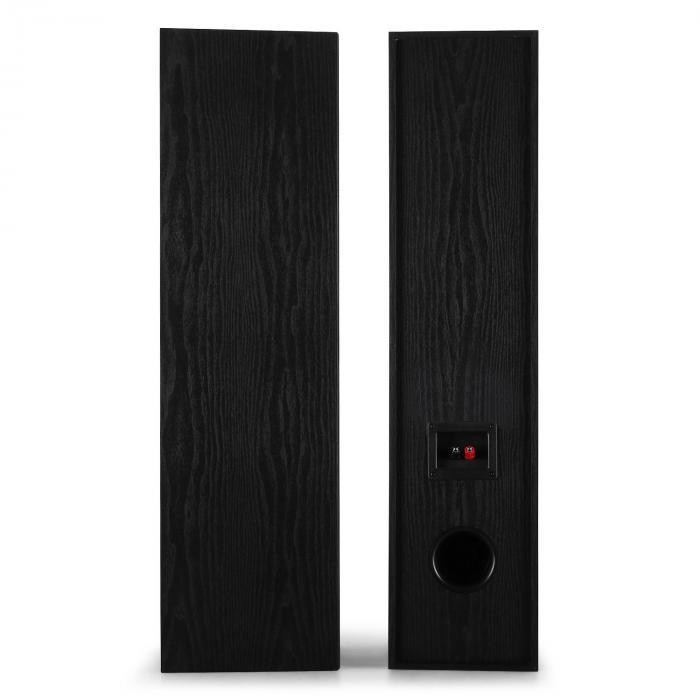 l766 3 wege bassreflex hifi boxen paar 180w rms schwarz online kaufen elektronik star de. Black Bedroom Furniture Sets. Home Design Ideas