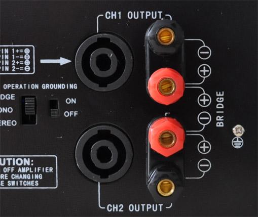 AMP-2000 amplificatore DJ 3200W 3U MOSFET 3000W
