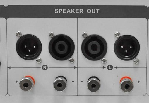 amplificatore 1600W dj pa mosfet 2 canali led sub