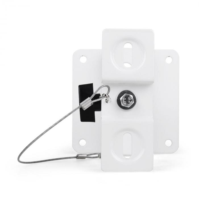 SB-01 Supporto Casse Universale Set 4pz. 10kg Bianco
