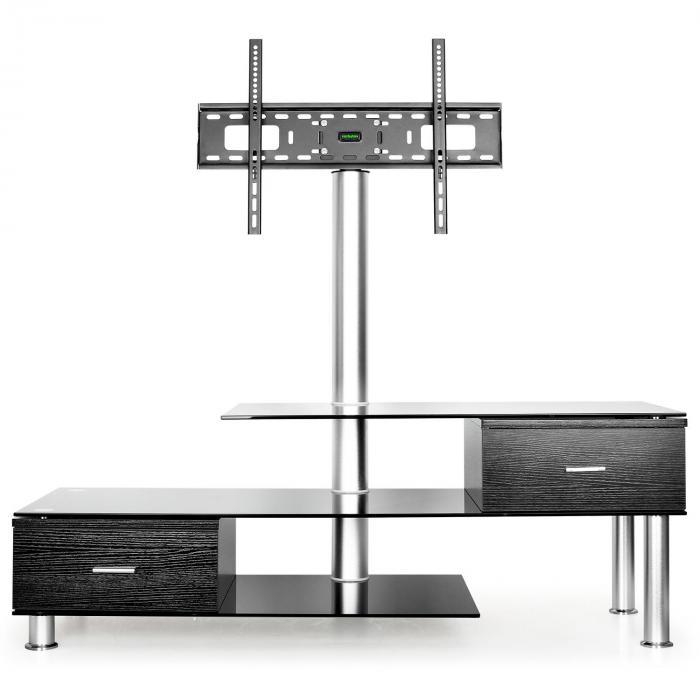 tavolo TV con supporto LCD nero