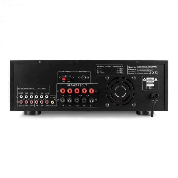 AMP-5100 5.1 Surround Sound Receiver 1200W Amplifier