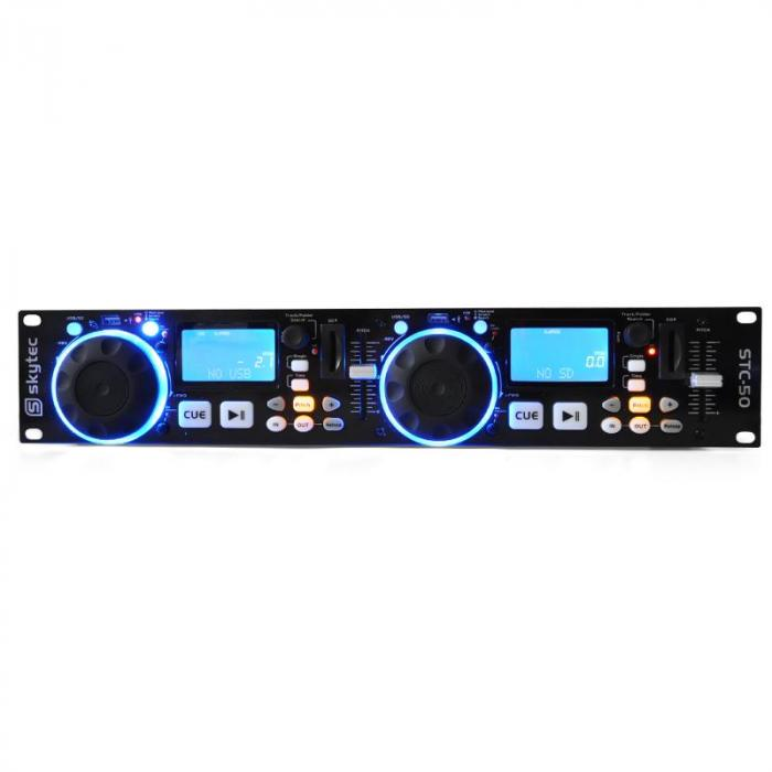 lettore MP3 DJ STC-50 2 banchi USB SD scratching