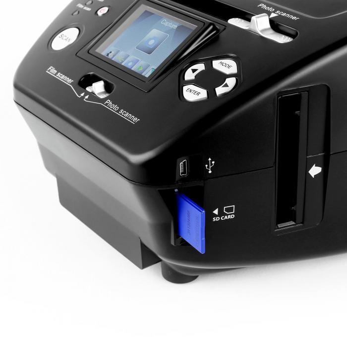 179B Combo Dia-Film-Foto-Scanner SD xD 5,1 MP