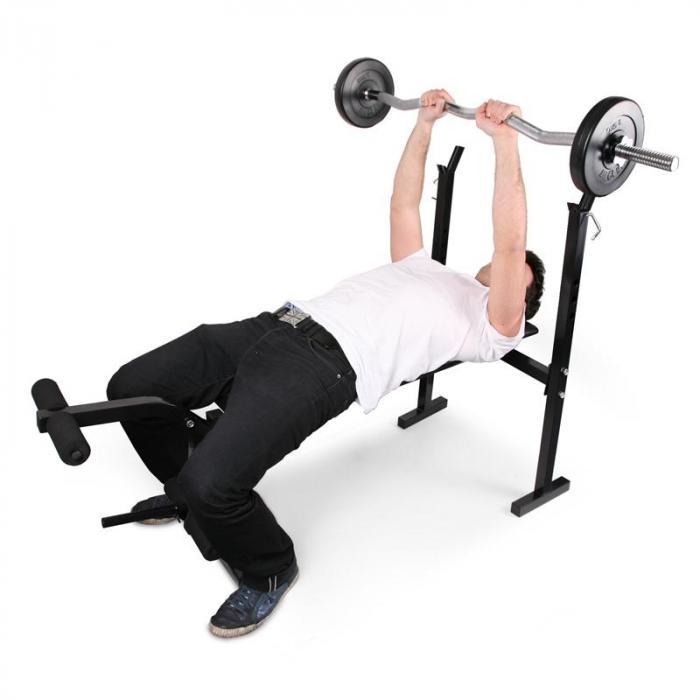 Hantelbank Trainingsbank Beincurler <160kg