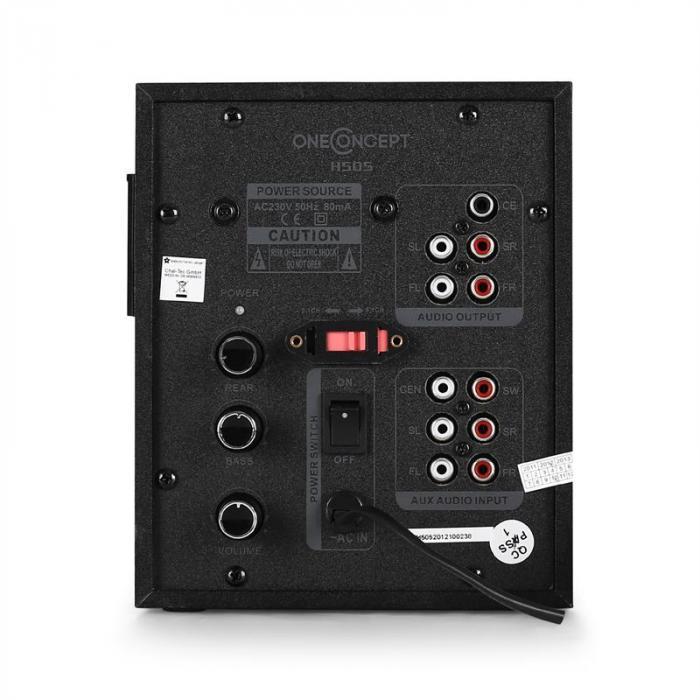 HS505 Sistema casse attive 5.1 40W RMS