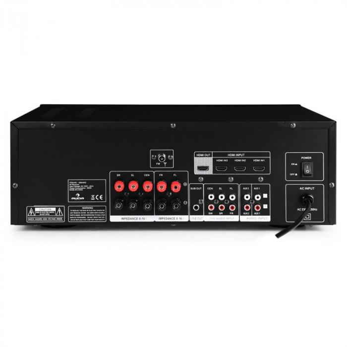 AV2-H338 5.1-Surround-Receiver Verstärker