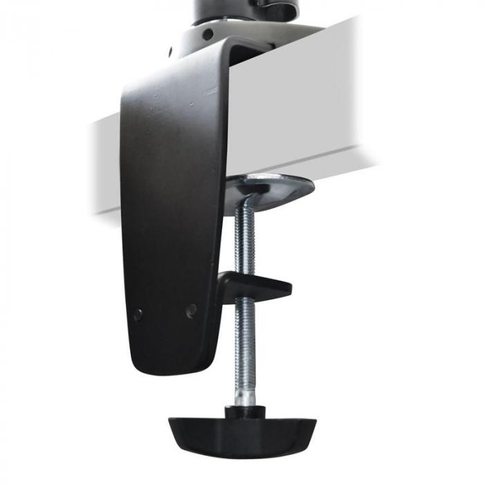ET01-C024 2 Monitor Screen TV LCD Desk Table Bracket
