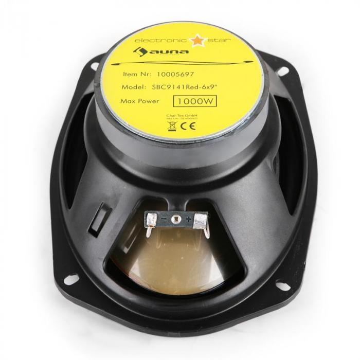"""SBC-9141 15x23cm (6x9"""") Auto-Lautsprecher 2000W max."""