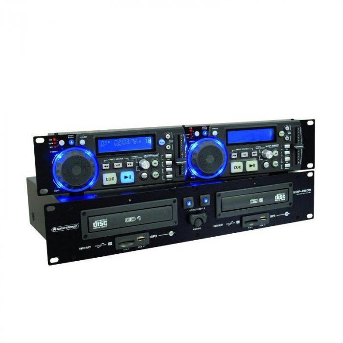 XDP-2800 tupla-CD-soitin SD USB