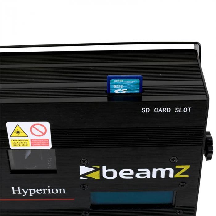 Hyperion Animation Laser 10 Channel DMX SD Light