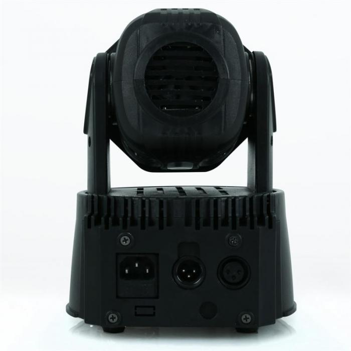 Valoefektisetti kuljetuslaukku 2x LED-108 moving head & 1 x soft case