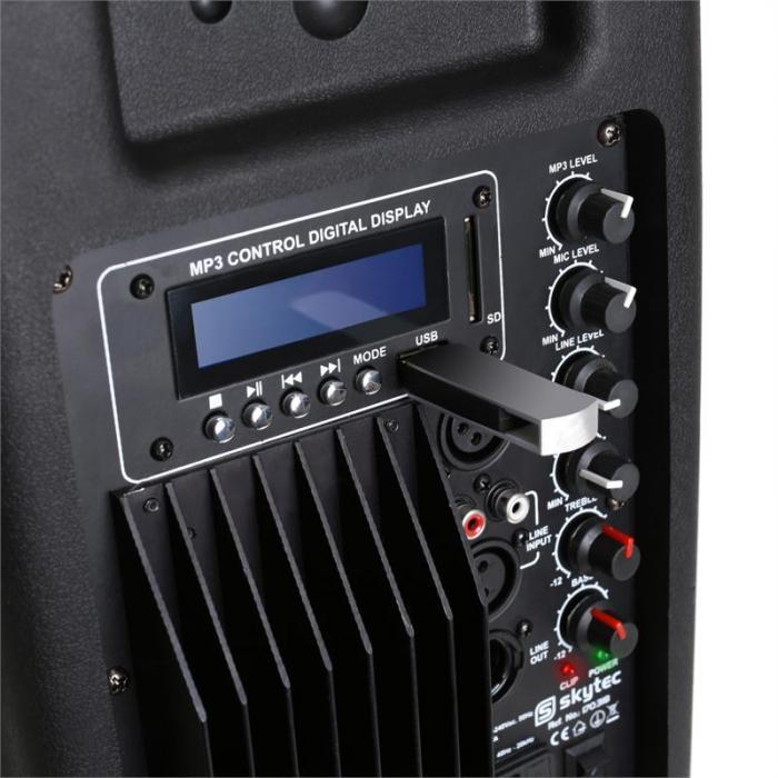 "SP1500ABT 38cm (15"") aktiivikaiutin, Bluetooth, 800W"