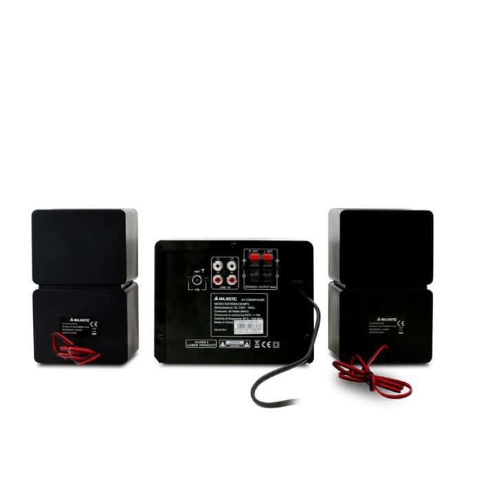 AH-2336 MP3/USB mini HiFi 2x AUX