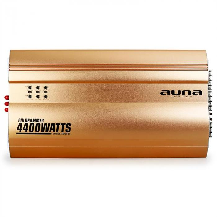 Goldhammer 4-Channel Car Amplifier 400W