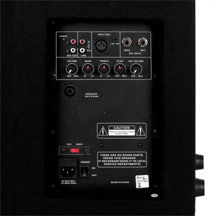 PW-MON-12A altoparlante spia monitor attivo 1100W