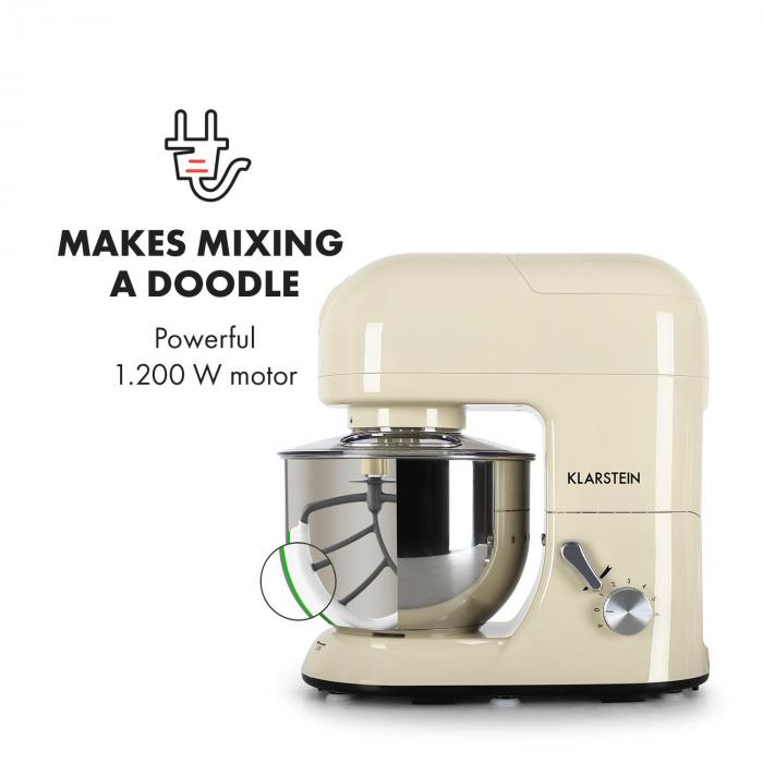 Lucia Morena Stand Mixer Mincer 1200W 5L