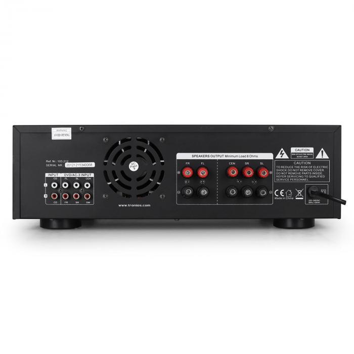 103.212 AV-340 amplificatore 5 canali karaoke