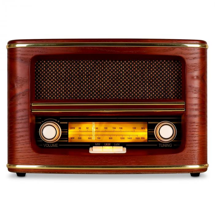 belle epoque 1905 radio w stylu retro ukw mw kup tanio. Black Bedroom Furniture Sets. Home Design Ideas