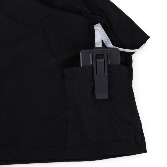 T-Shirt LED 2-Farben iRock Inside Design Größe XL