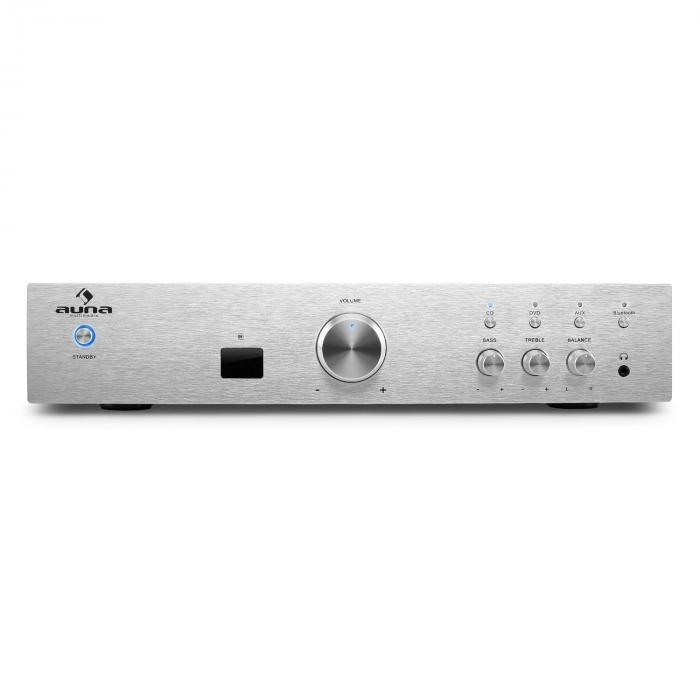 AV2 CD508BT HiFi Stereo Amplifier Bluetooth 600W Silver