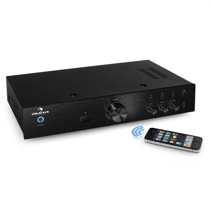 AV2-CD508BT amplificatore HiFi AUX bluetooth nero