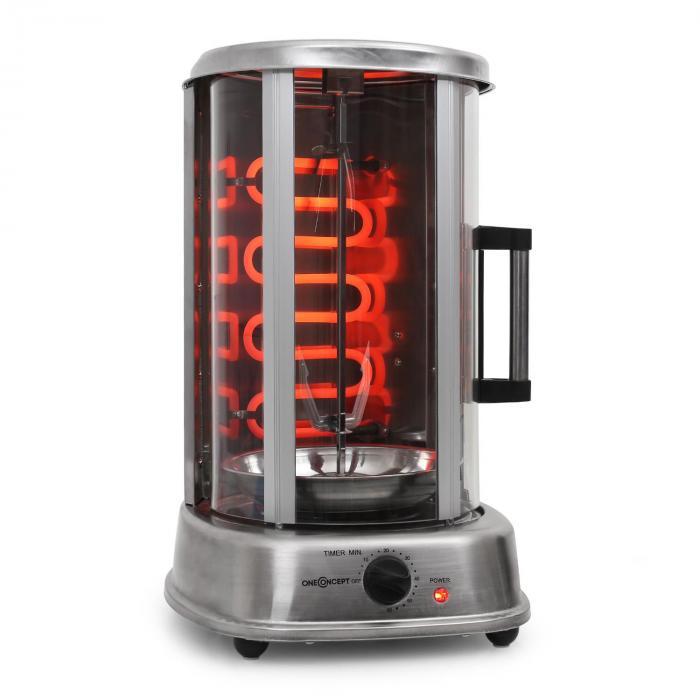 Kebab Master Pro vertikalgrill 1500W inkl. spett