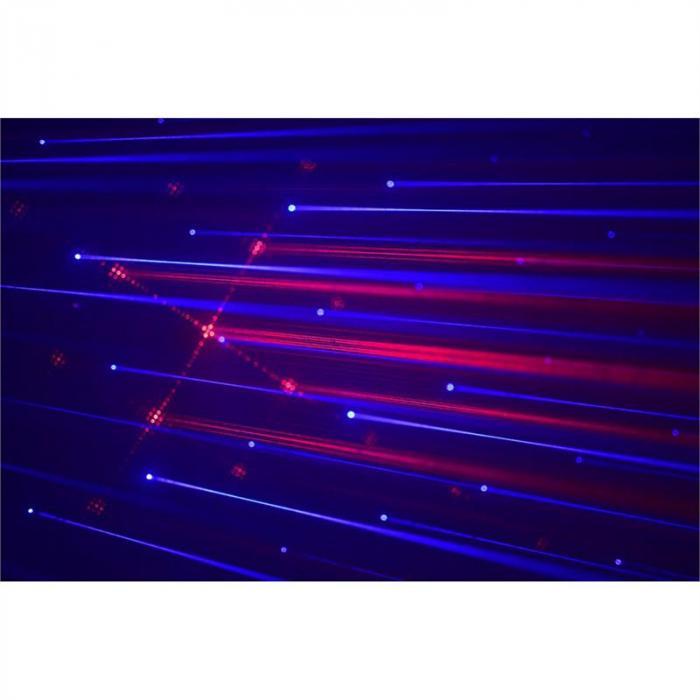 LS-RB1 Laser Light Red-Blue 10-Channel DMX