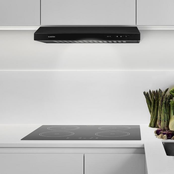 UW60BL cappa da cucina aspirante 317 m³ Classe E