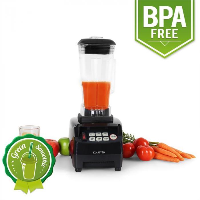 Herakles 5G Standmixer 1500W 2,0 PS 2L Green Smoothie BPA-frei