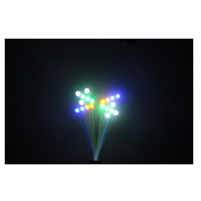 LCM003LED Moonflower RGBWA Musiksteuerung schwarz
