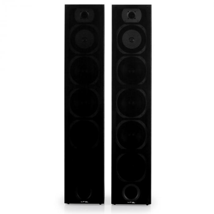 V7B coppia di diffusori da pavimento 4 vie neri