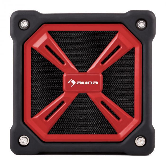 TRK-861 Bluetooth-Lautsprecher mobil Akku Outdoor rot
