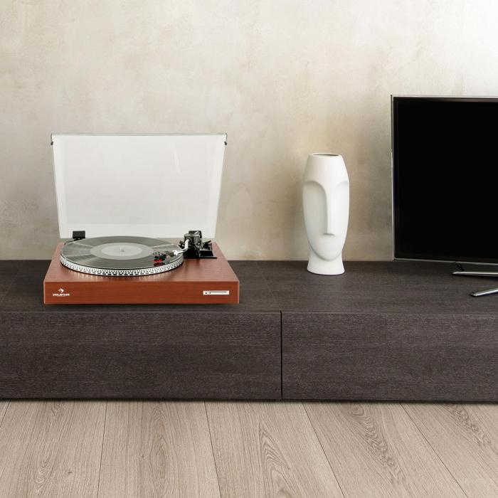 TT-931 Plattenspieler Holz-Finish