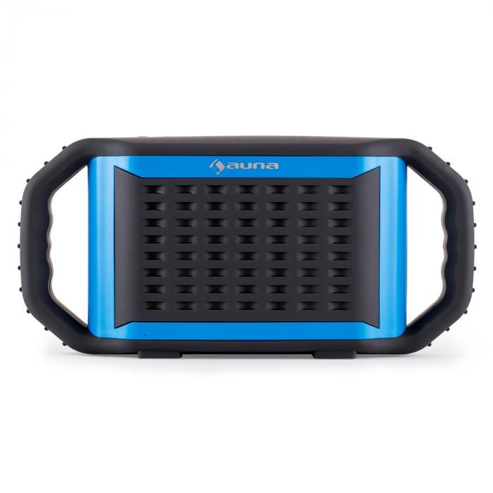 poolboy enceinte bluetooth usb aux tanche bleu. Black Bedroom Furniture Sets. Home Design Ideas