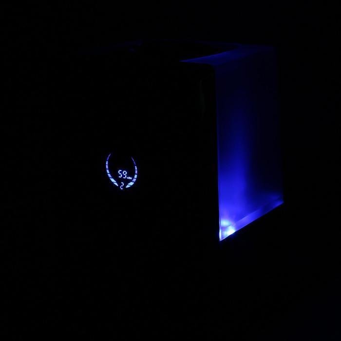 Monaco Umidificatore digitale ad ultrasuoni nero