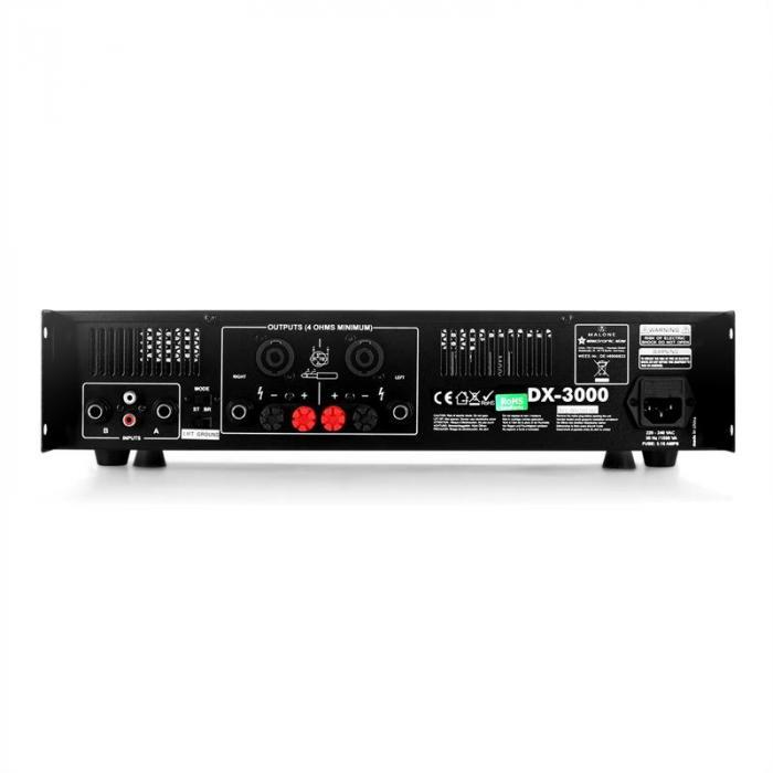 """Conjunto PA Saphir TX215"""" 2 altavoces de 38cm y amplificador 3000W"""