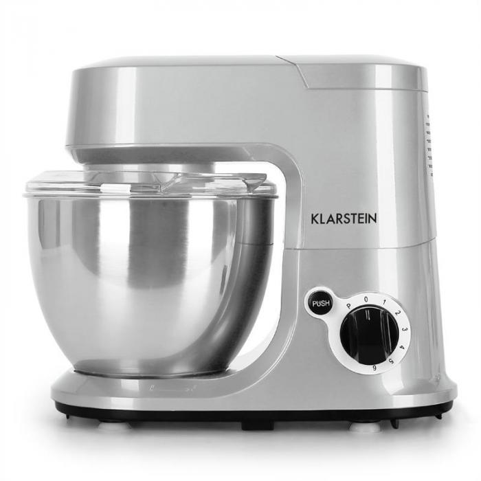 Carina Argentea keittiön yleiskone 800W 4 litraa hopea