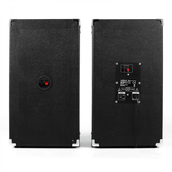 BSX-8A PA-Lautsprecher USB microSD AUX MIC 90W schwarz