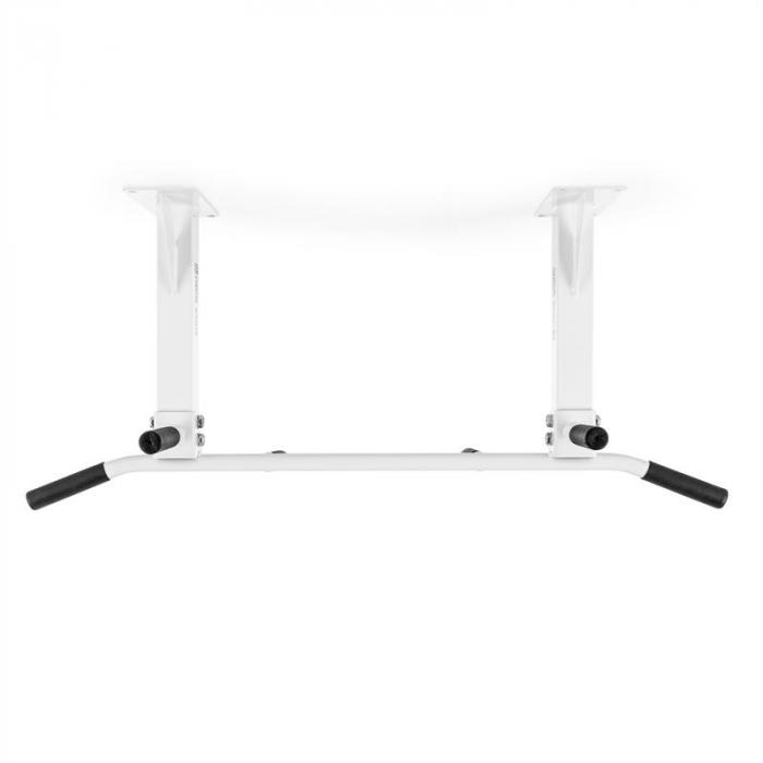 Klarfit KS4DCW Chin Up Bar Ceiling Mounted White <350kg