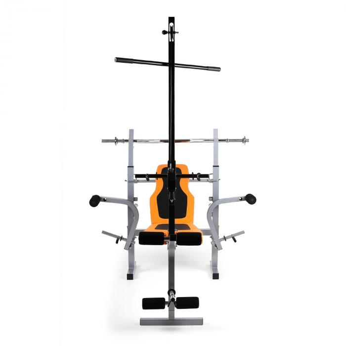 Ultimate Gym 3500 krachtstation halterbank latissimus arm- / beencurler