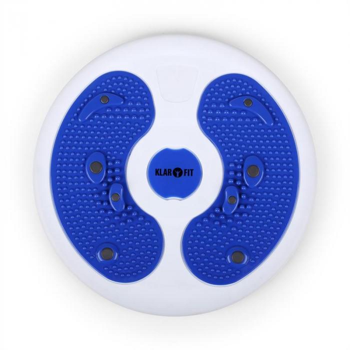MyTwist Body twisterplatta fotmassage blå