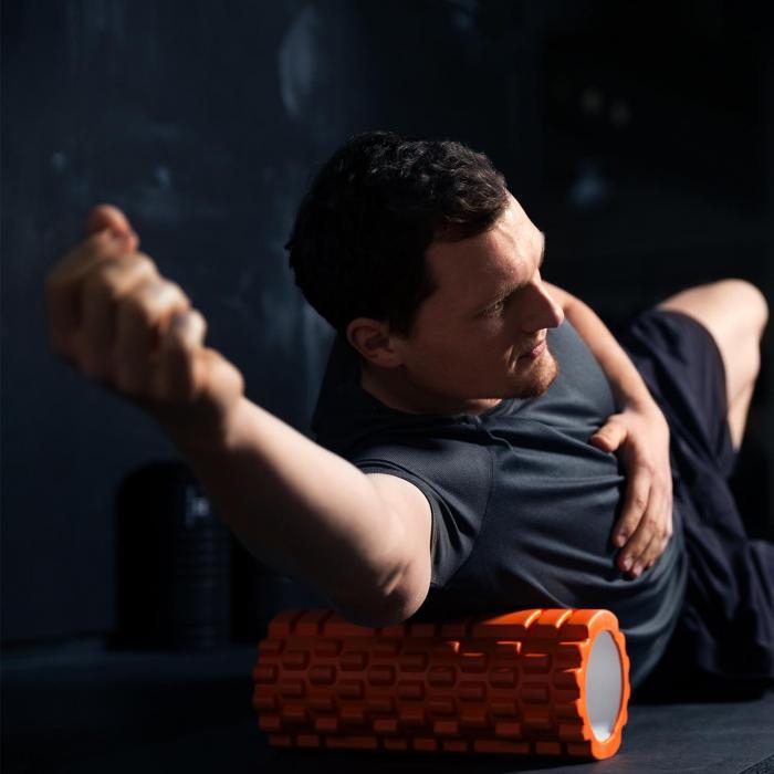 Yoyogi Massageroller Blau Hartgummi