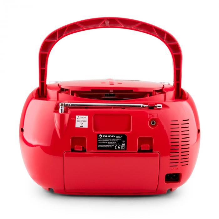 Beegirl radionauhuri CD MP3 USB punainen