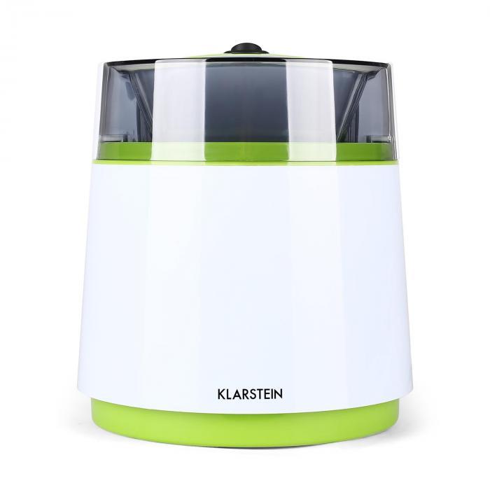 Bacio Verde Eiscrememaschine 0,8 Liter weiß-grün